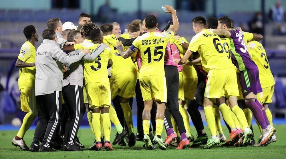 Дебютант Лиги чемпионов «Шериф» из Молдовы забил первый гол в турнире