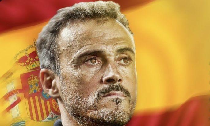 Луис Энрике, гл тренер Испании!