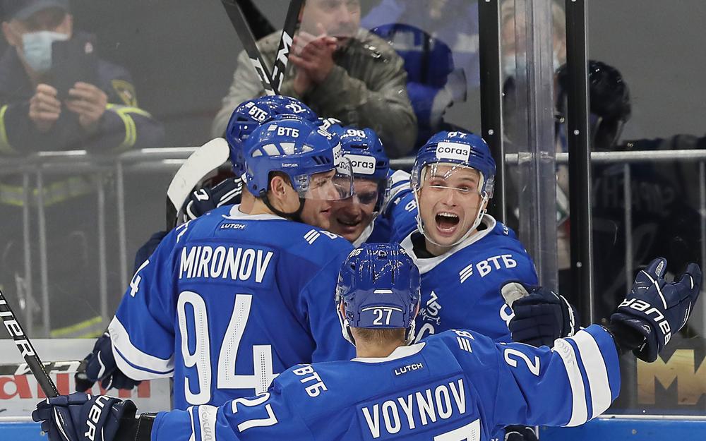 У «Динамо» отлично поставлена игра в нападении
