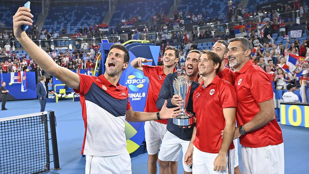 Сборная Сербии по теннису заработала Кубок ATP-2020