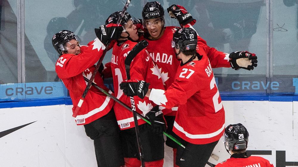 Канадцы задали высокий темп с первых минут стартового матча