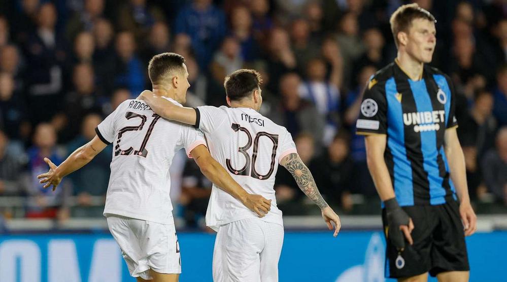 ПСЖ открыл счёт в матче, но не удержал преимущество