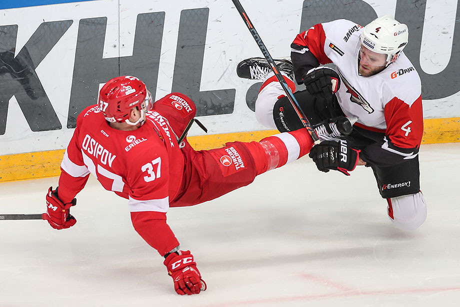 «Спартак» примет «Авангард» в матче регулярного чемпионата КХЛ