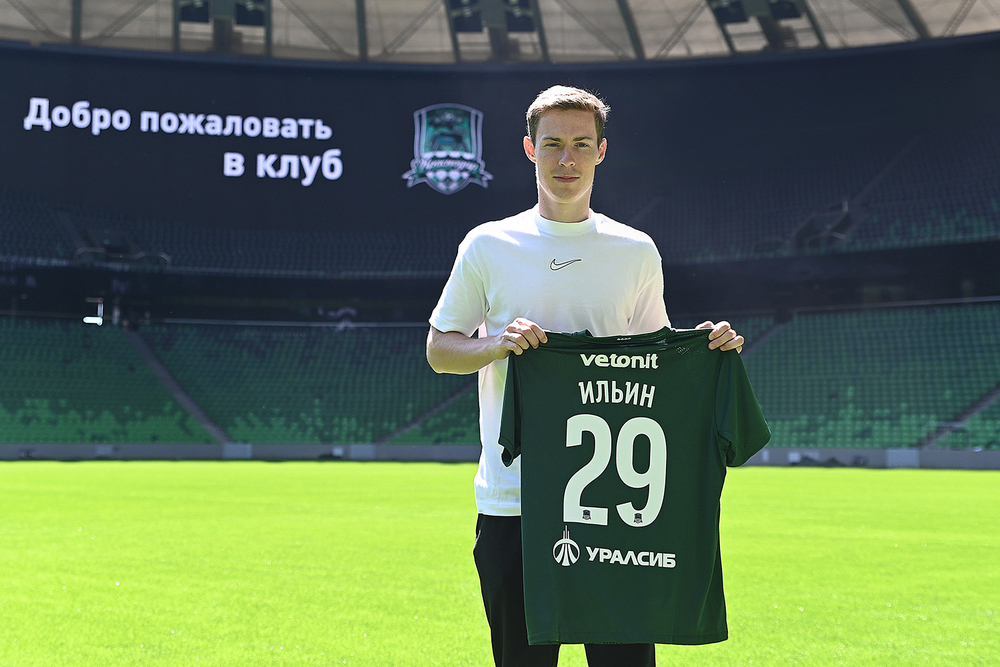 Владимир Ильин полон желания начать забивать после перехода в «Краснодар»