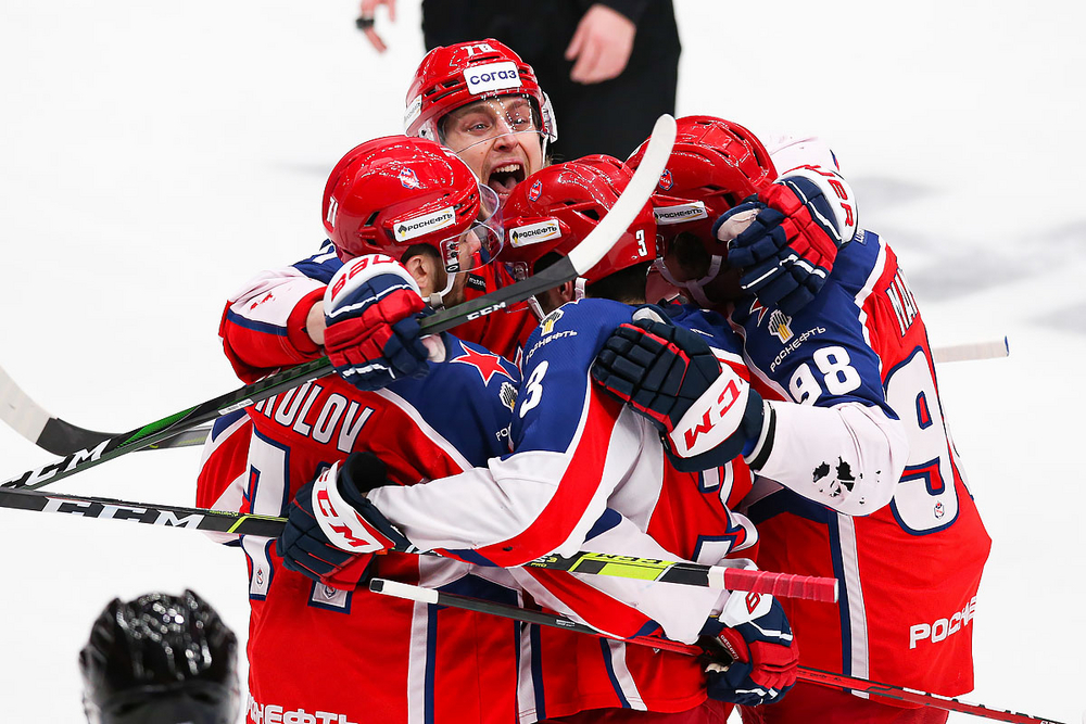 ЦСКА сравнял счет в серии, обыграл «Локомотив» 4:1