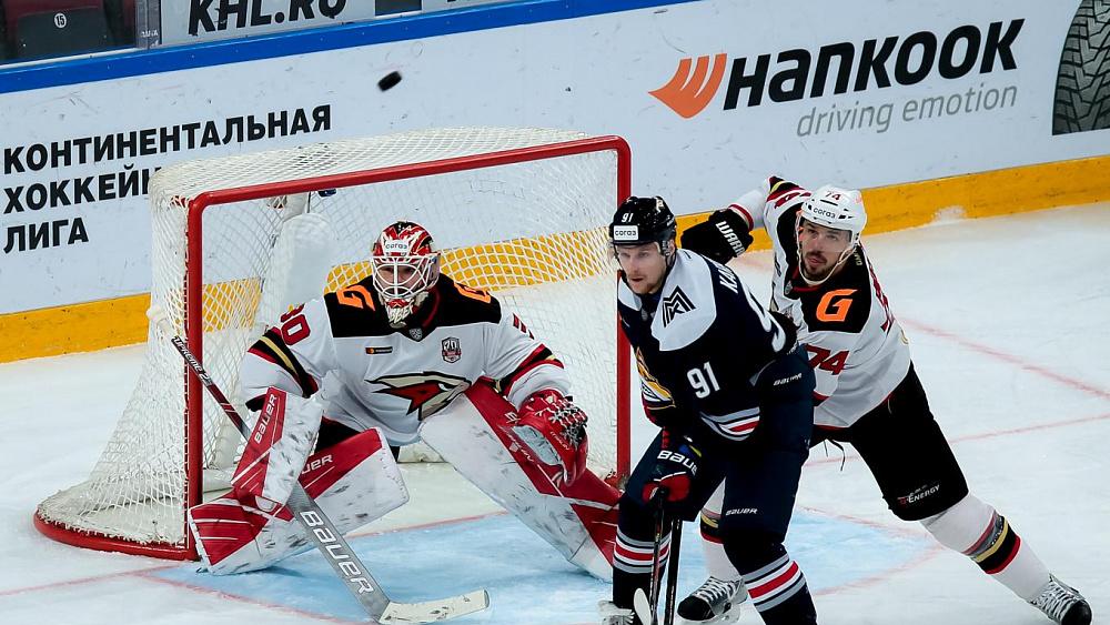 «Металлург» сыграет с «Авангардом» в матче регулярного чемпионата КХЛ