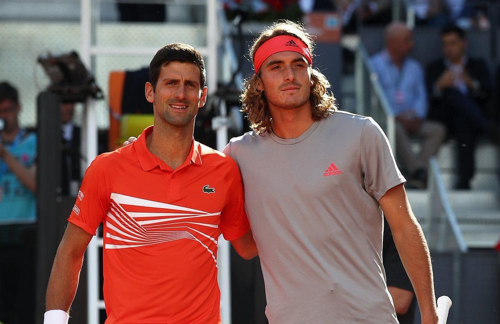 Циципас и Джокович подарили любителям тенниса несколько ярких очных поединков