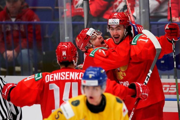 Россия обыграла Швецию в овертайме