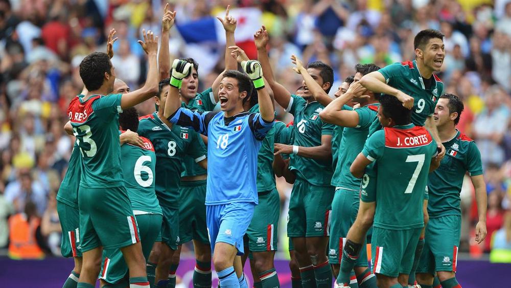 Сборная Мексики на Играх в Лондоне-2012