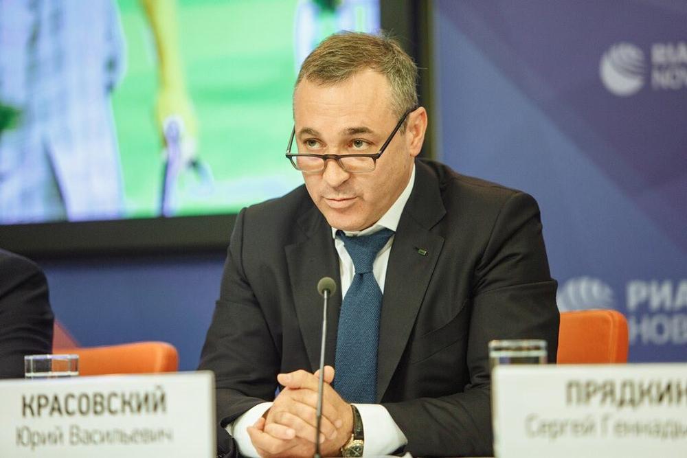Президент компании «Лига ставок» Юрий Красовский