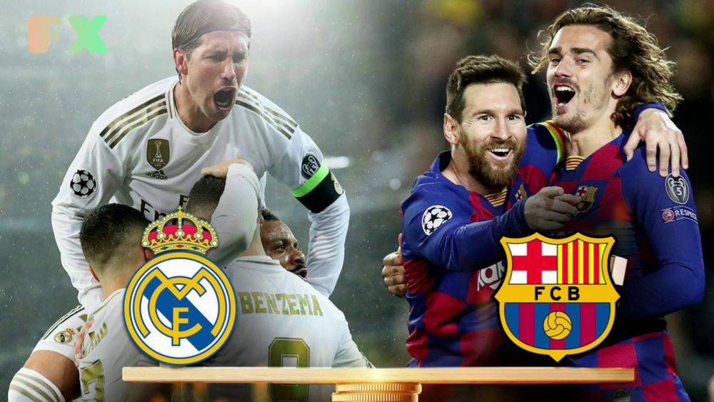Реал Мадрид — Барселона