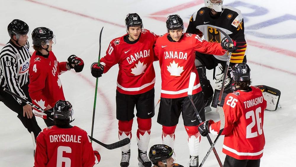 Канадцы катком прошлись по соперникам в своей группе