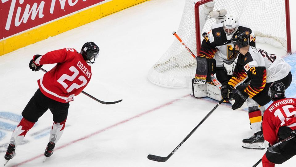 Команда Канады не оставила камня на камне от немецкой сборной