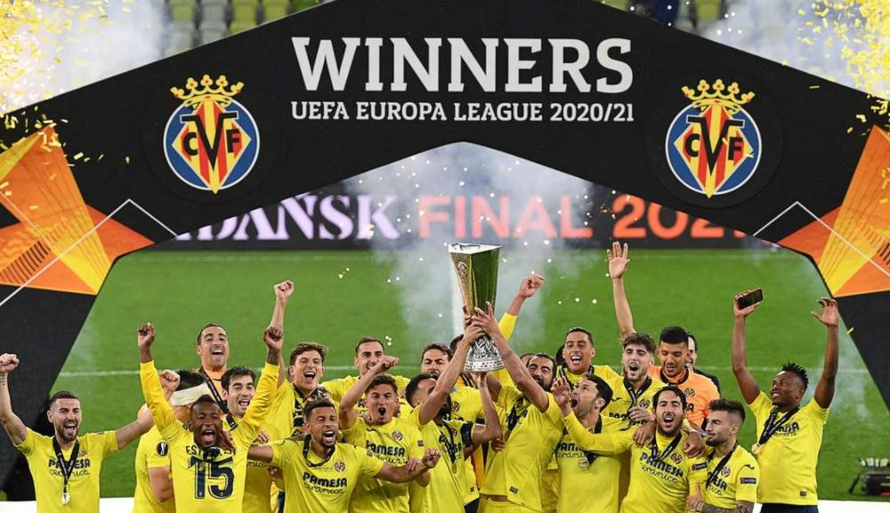 Вильярреал, победитель Лиги Европы-2020/2021