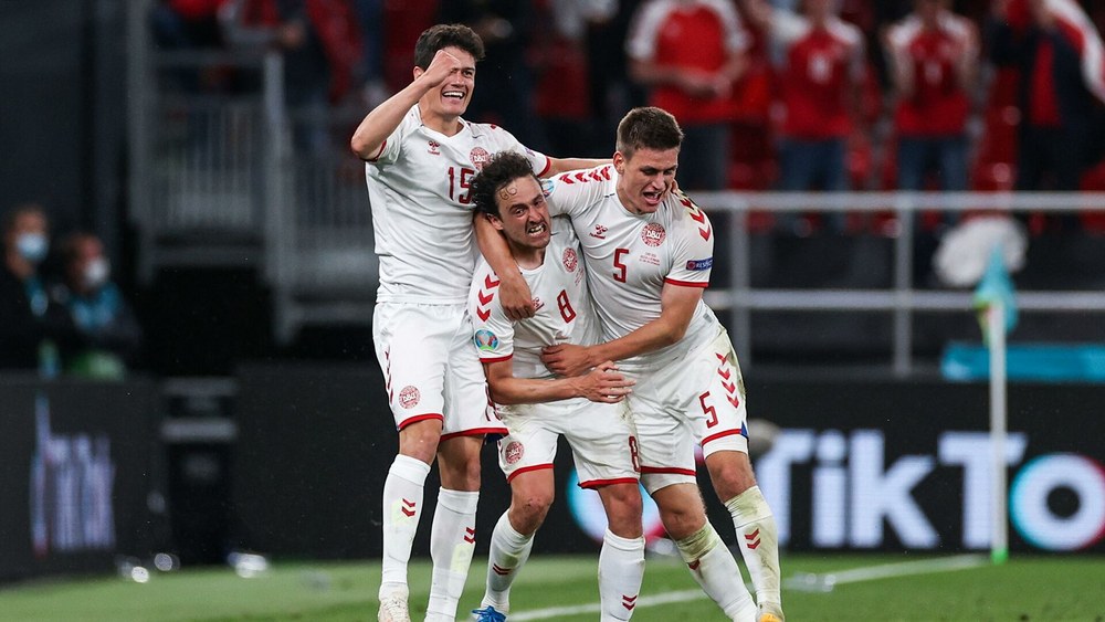 Радость игроков сборной Дании