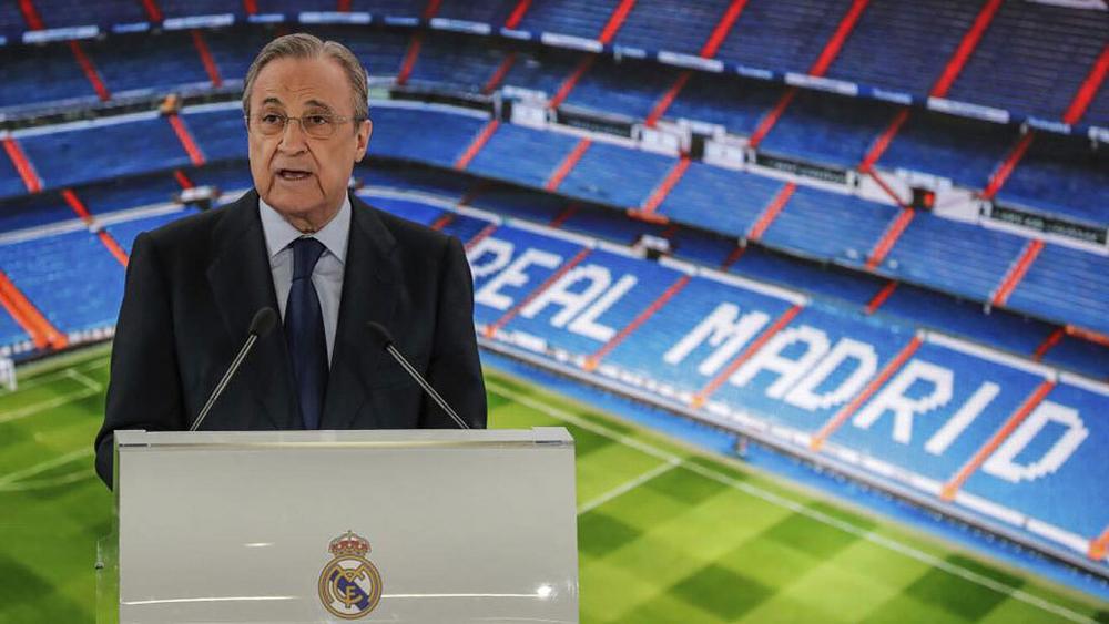 Флорентино Перес, Реал Мадрид