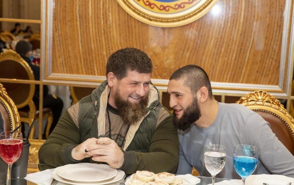 Кадыров и Чимаев