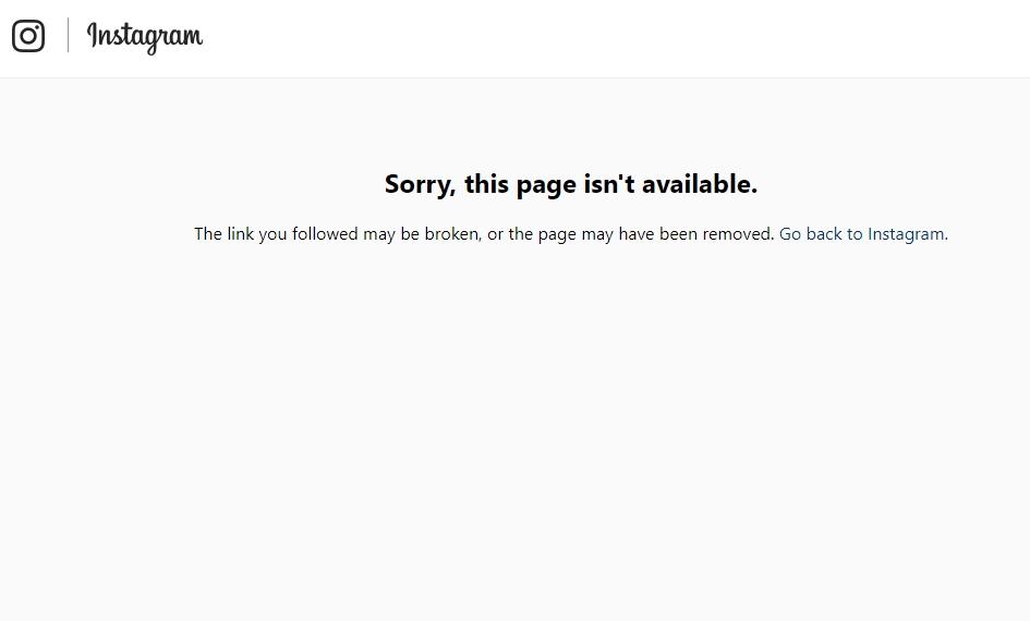 С вечера 29 декабря официальная страница хоккейного клуба Динамо Минск в социальной сети Инстаграм недоступна