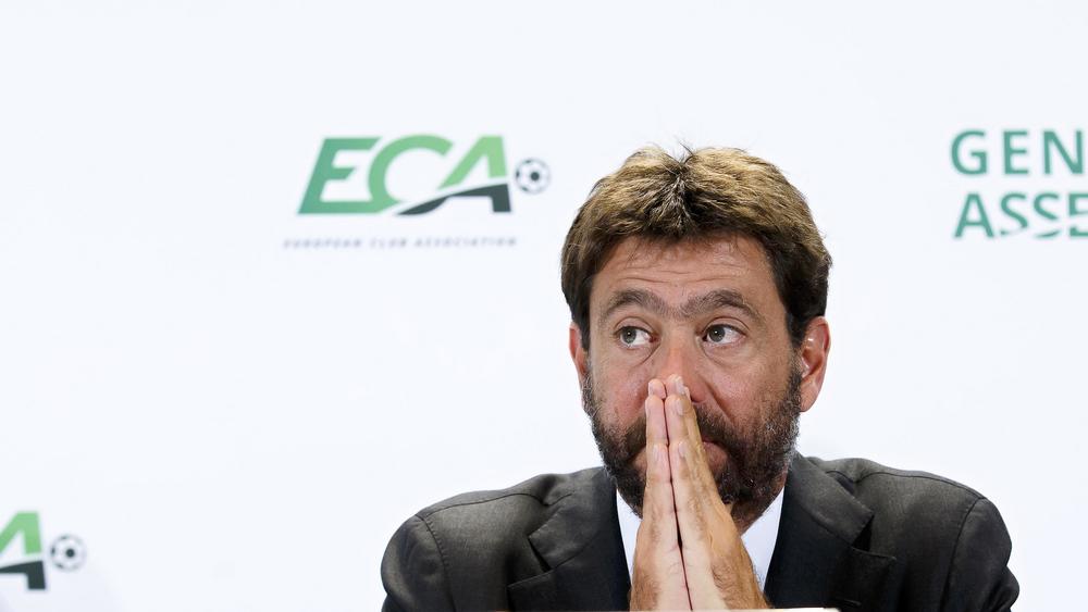 Президент «Ювентуса» и вице-президент Суперлиги Андреа Аньелли