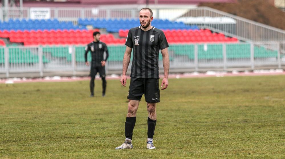 Арсена Вагидов, лучший снайпер «Кубани Холдинга», забил 8 голов в 16 матчах