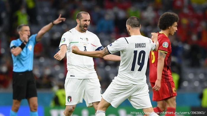 Итальянцы обыграли лидера мирового рейтинга - сборную Бельгии