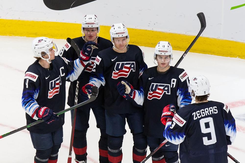 США уничтожили Австрию со счётом 11:0