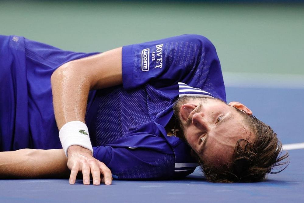 Медведев после победы на US Open-2021