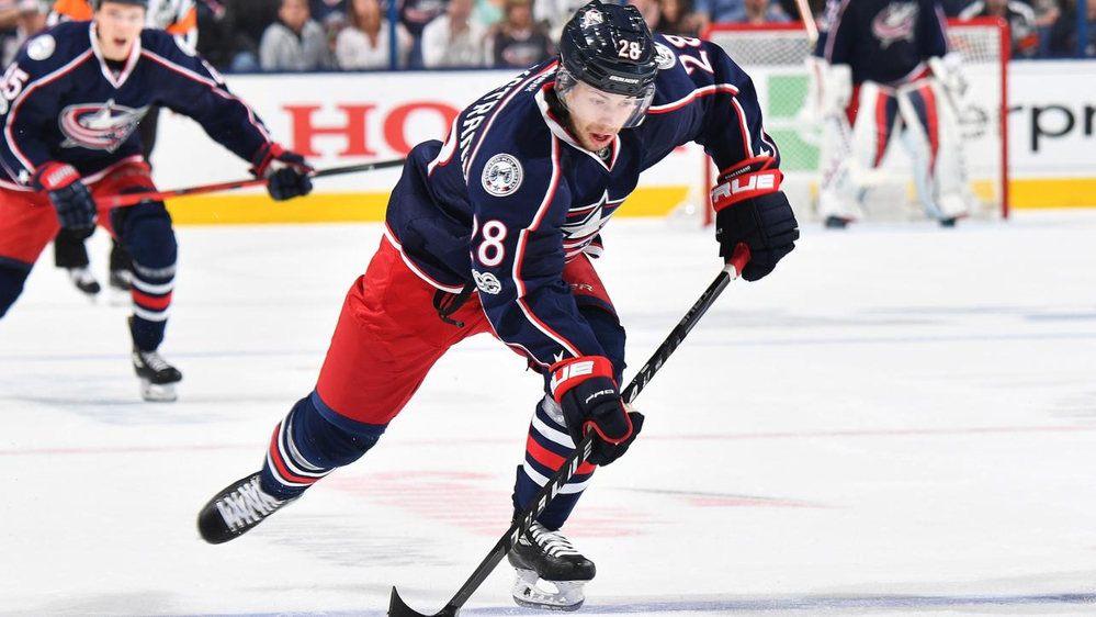 25-летний нападающий из Дании Оливер Бьоркстранд заключил новый контракт с клубом НХЛ Коламбус