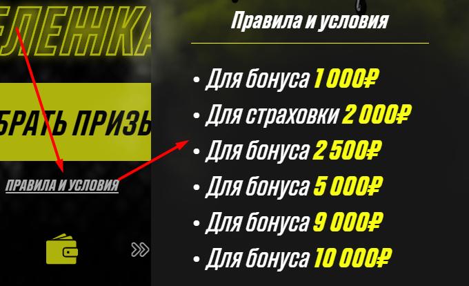 Розыгрыш бонусов от БК «Париматч»