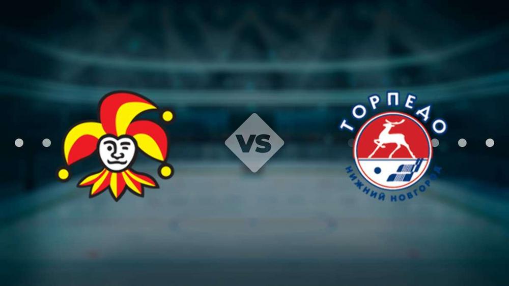 Логотипы клубов «Йокерит» и «Торпедо»