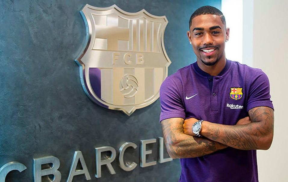 Малком подписал контракт с «Барселоной», 2018-й год