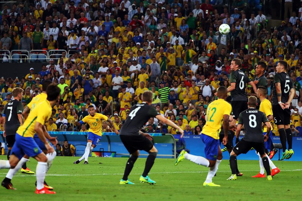 Бразилия выиграла ОИ в 2016 году