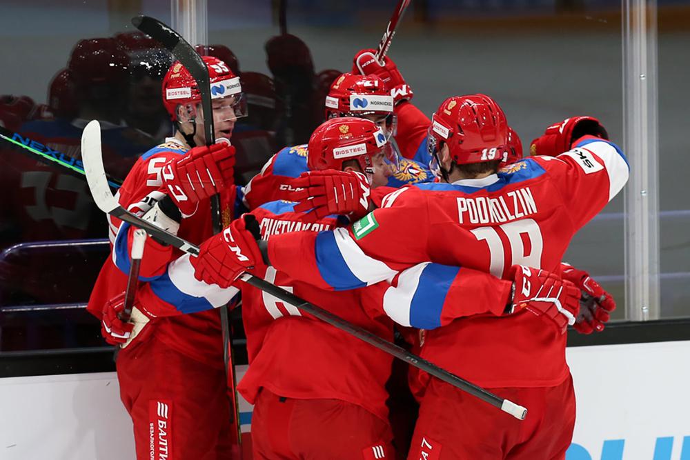 Сборную России букмекеры относят к фаворитам турнира