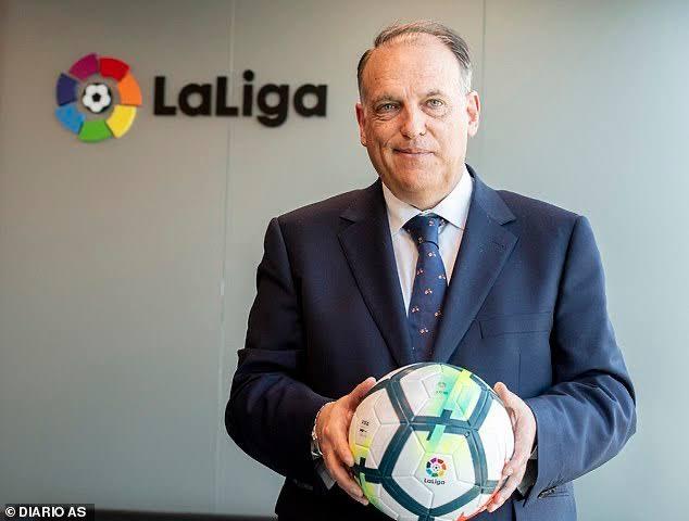 Хавьер Тебас, испанский спортивный функционер, Президент Ла Лиги